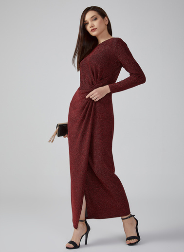 Gusto Elbise Kırmızı